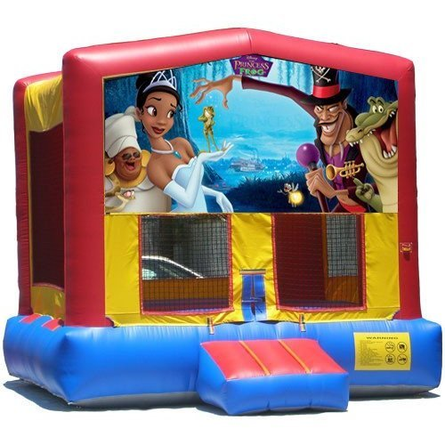 Princess The Frog Multi Color Bounce House