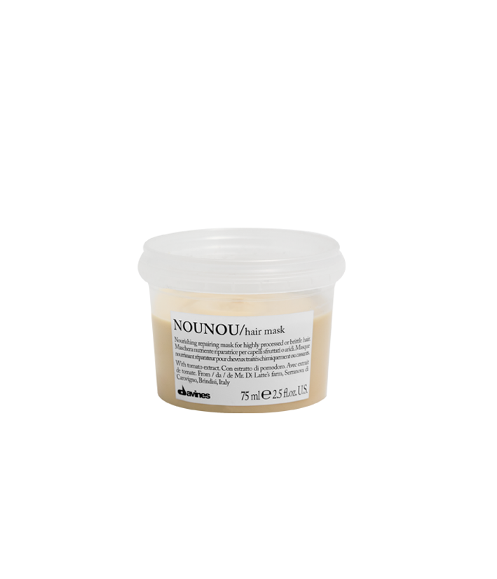 Davines NOUNOU Hair Mask Travel Size 75 ml | Nutrición Intensiva