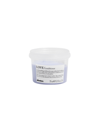 Davines Love Smoothing Acondicionador Travel Size 75 ml | Cabello Rebelde