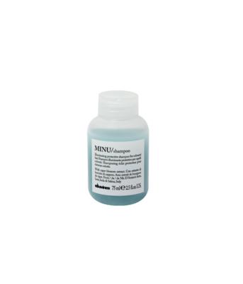 Davines MINU Shampoo Travel Size 75 ml | Cabello con Color