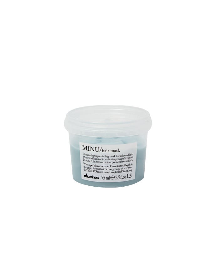 Davines MINU Hair Mask Travel Size 75 ml | Cabello con Color