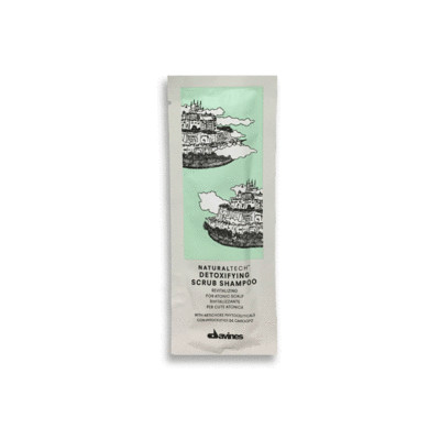 Davines Detoxifying Scrub Shampoo Muestra 12 ml | Elimina Impurezas