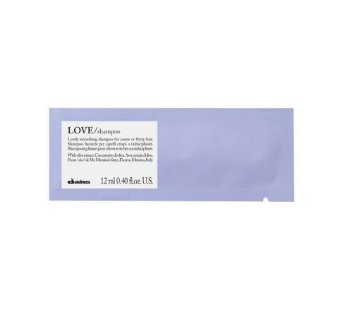 Davines Love Smoothing Shampoo Muestra 12 ml | Cabello Rebelde