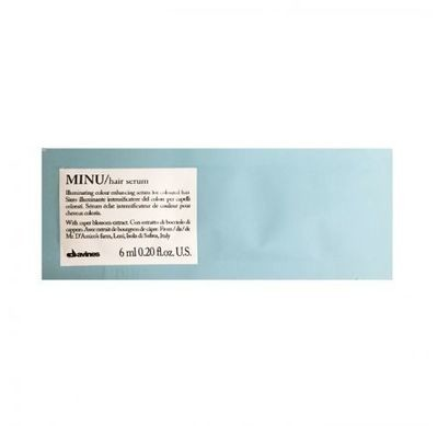 Davines MINU Hair Serum Muestra 12 ml | Cabello con Color