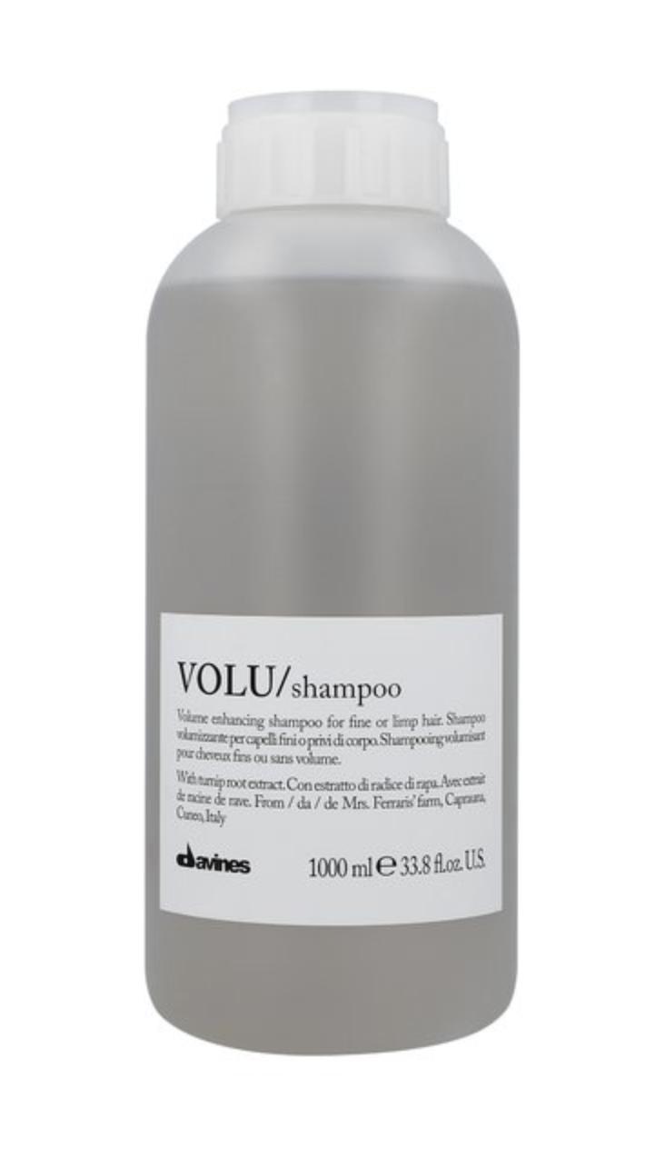 Davines VOLU Shampoo 1 lt   Cabello sin Volumen