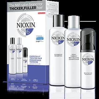 Nioxin Sistema 6 | Cabello con Color Pérdida Evidente