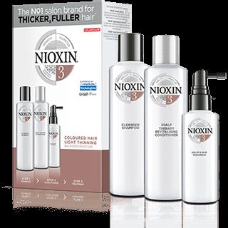 Nioxin Sistema 3 | Cabello Teñido Pérdida Ligera