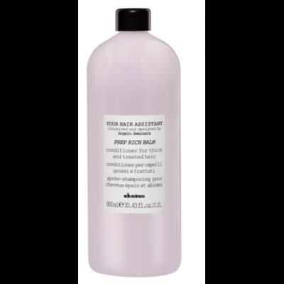 Davines Prep Rich Balm 900 ml | Acondicionador Nutritivo