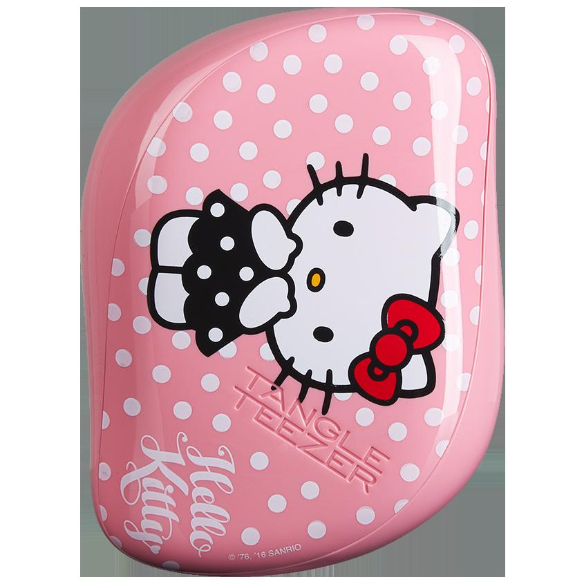 Tangle Teezer Compact Styler | Cepillo Desenredante Hello Kitti Pink