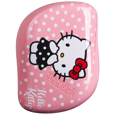 Tangle Teezer Compact Styler | Cepillo Desenredante Hello Kitty Pink