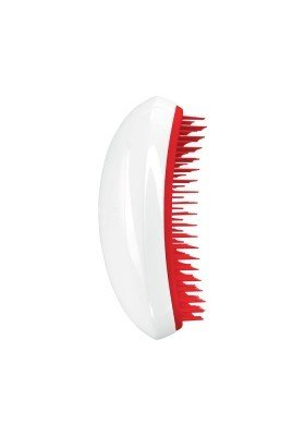 Tangle Teezer Salón Elite Limited Edition | Cepillo Desenredante Blanco-Rojo