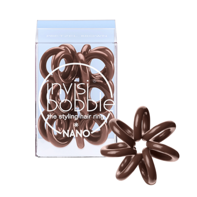 Invisibobble Nano Pretzel Brown
