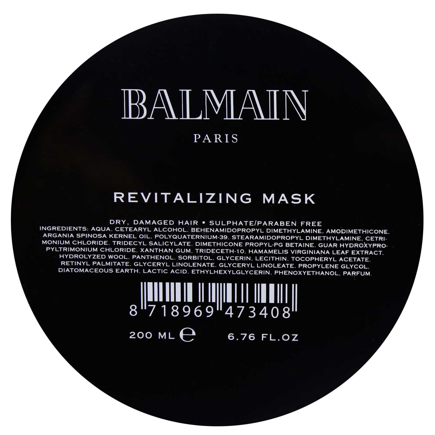 Balmain Revitalizing Mask 200 ml | Mascarilla Revitalizante