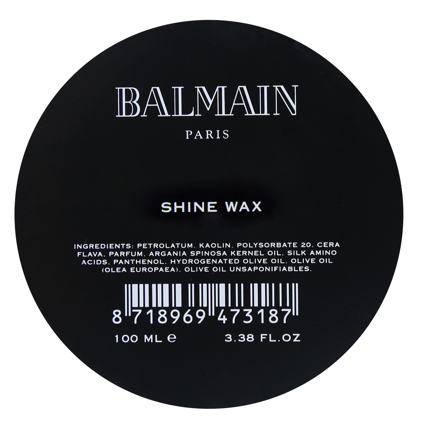 Balmain Shine Wax 100 ml | Cera Abrillantadora