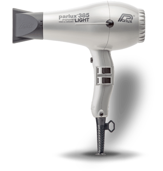 Parlux 385 Power Light | Plata | 2100 w