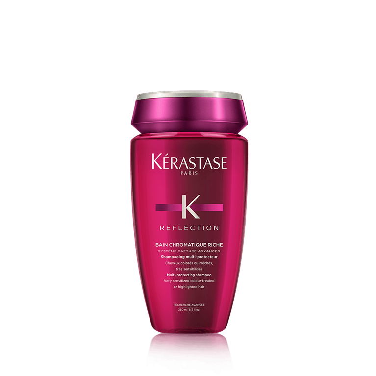 Kérastase Bain Chromatique Riche 250 ml | Shampoo Color o Mechas Fuertemente Sensibilizado
