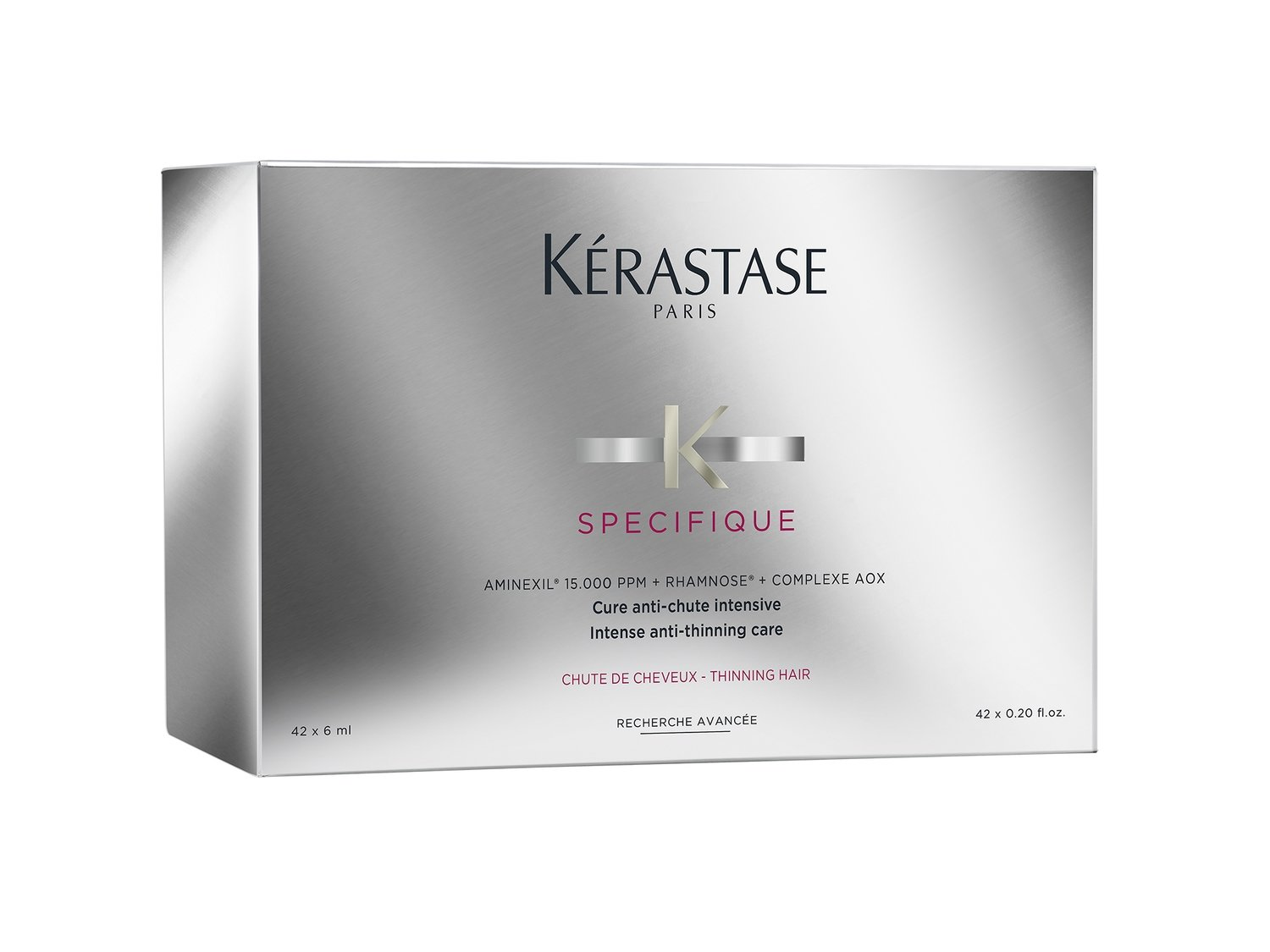 Kérastase Aminexil Force R 42 x 6 ml | Ampolletas Anticaída