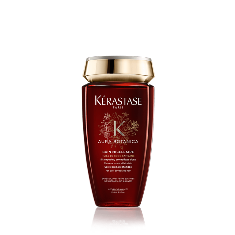 Kérastase Bain Riche Aura Botanica 250 ml | Shampoo 96% Ingredientes Naturales Hidratación Profunda