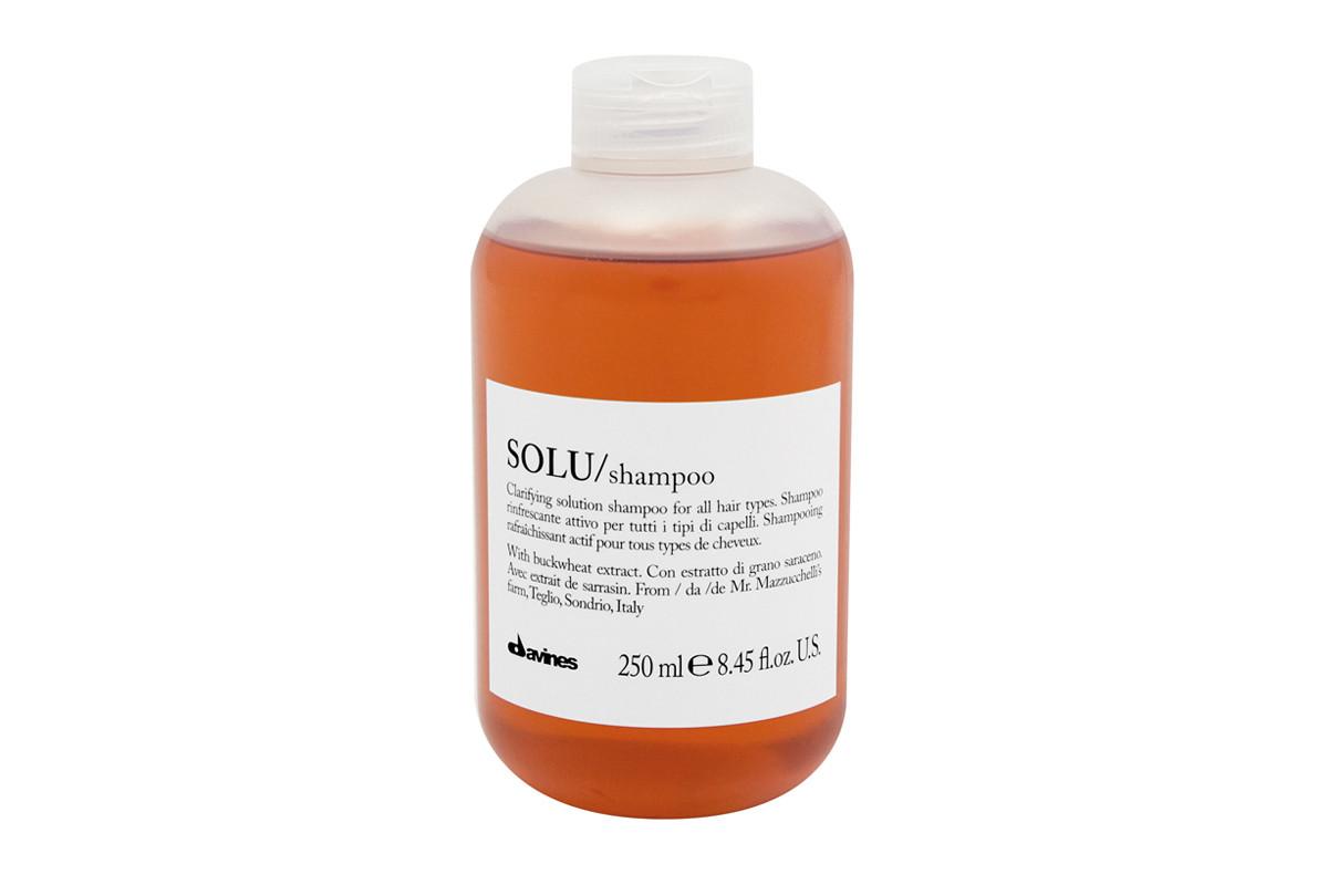Davines SOLU Shampoo 1 lt | Limpieza Profunda