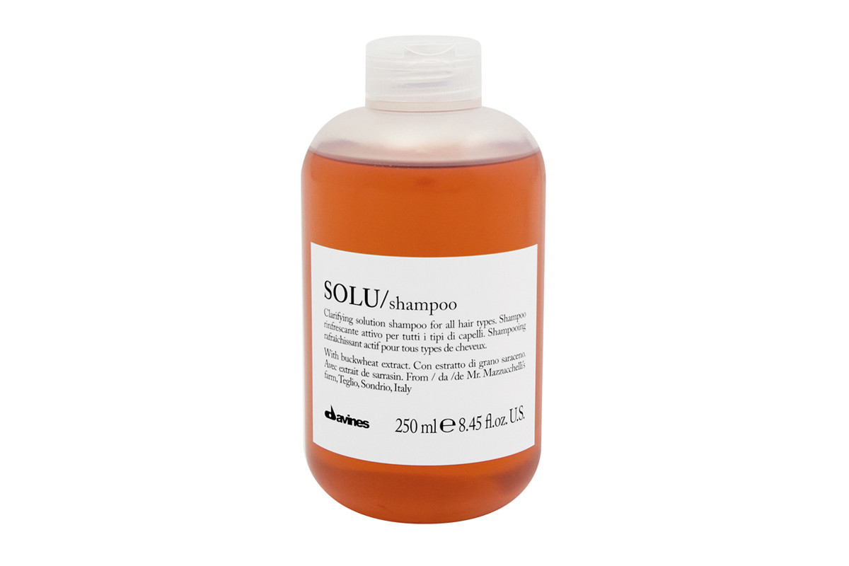Davines SOLU Shampoo 250 ml | Limpieza Profunda