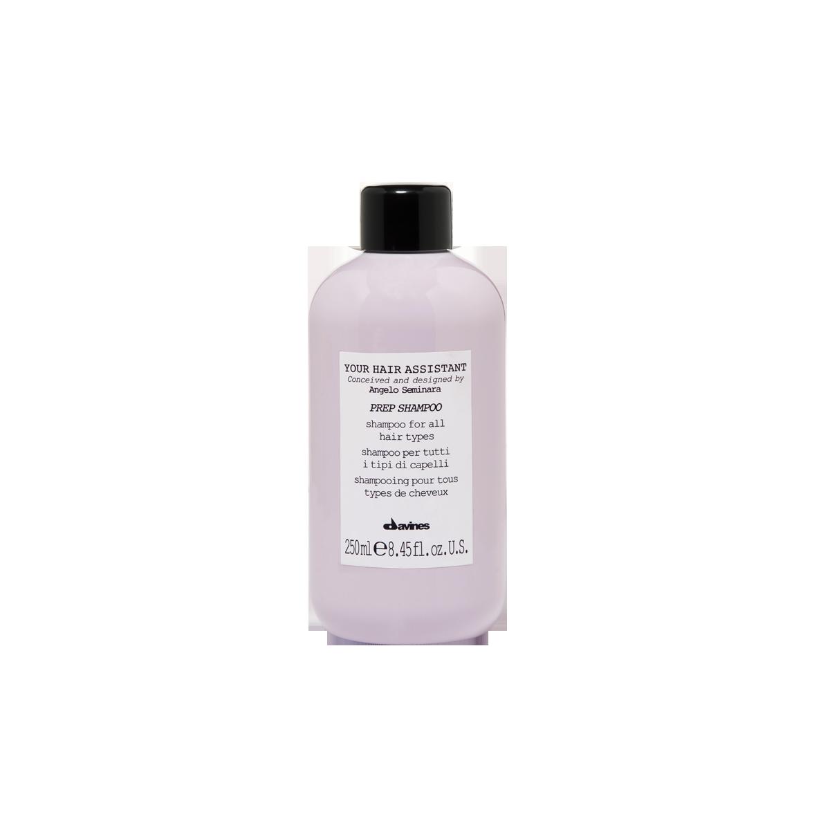 Davines Prep Shampoo 1 lt | Hidratación y Nutrición