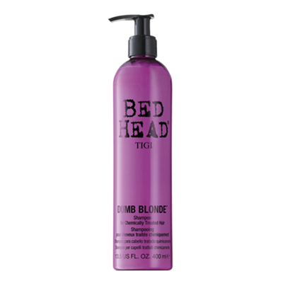 Bed Head Dumb Blonde Shampoo 400 ml | Reconstrucción Rubios o Mechas