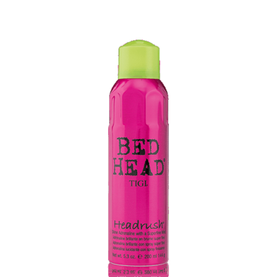 Bed Head Headrush 200 ml | Brillo en Spray sin Fijación