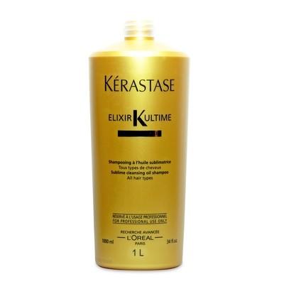 Kérastase Bain Elixir Ultime Oléo Complexe 1 lt   Shampoo Brillo