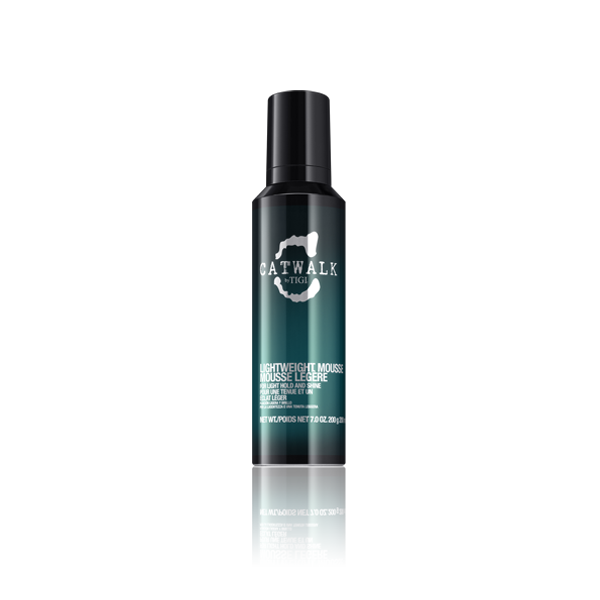 Catwalk Lightweight Mousse 200 ml | Mousse Ligero Rizos