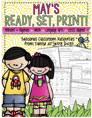 May Printables Pack