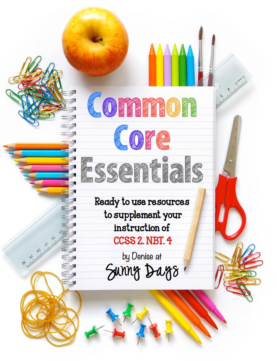 Common Core Essentials for 2.NBT.4