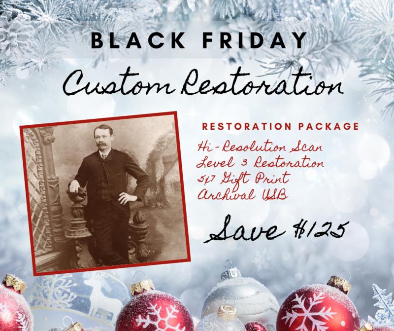 Photo Restoration Package - SAVE $100