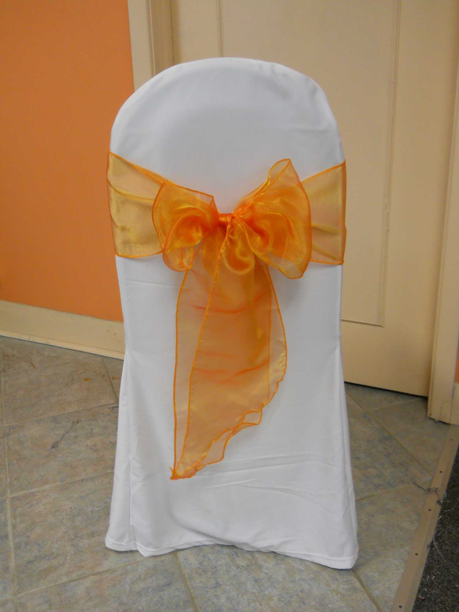 Orange Chair Sash