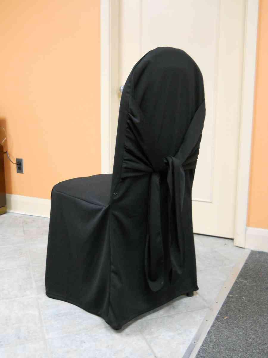 Scuba Chair Cover (Bella Black) 00009