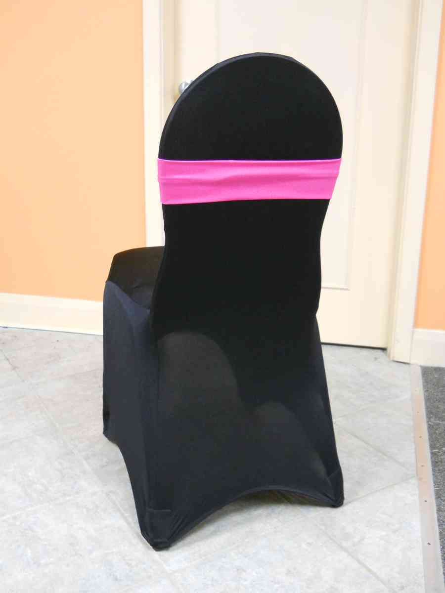 Spandex Chair Band (Fuschia) 00066