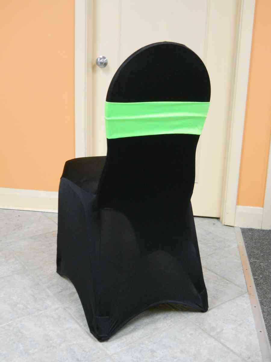 Spandex Chair Band (Lime) 00067