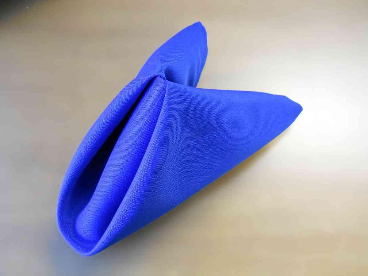 Polyester Napkin (Royal) 00073