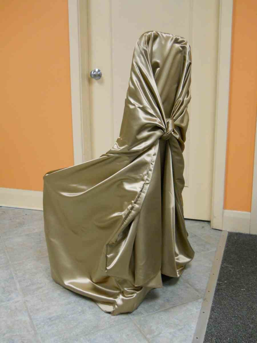 Satin Chair Wrap (New Gold)