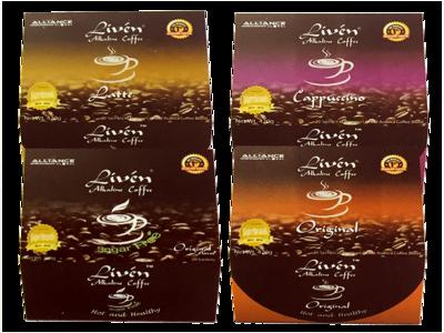 Liven Alkaline Coffee