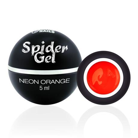 spider neon orange