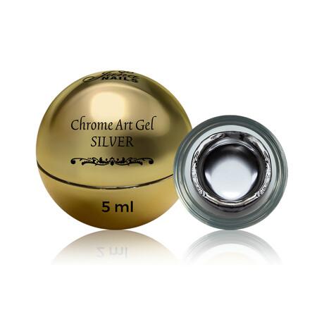 Chrome art gel Silver