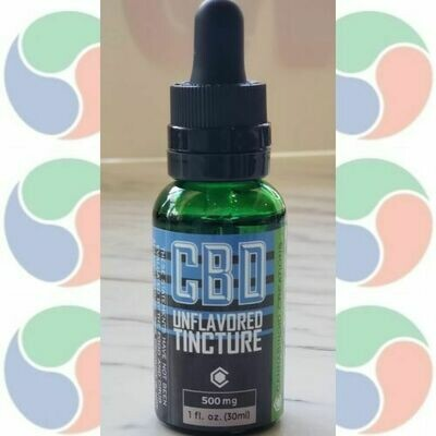 CBD Tincture Unflavored 500mg