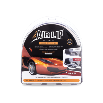 Universal Air Lip Black Kit