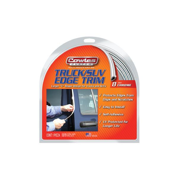 Cowles® S37204 Custom Chrome Truck Edge Guard Trim 8'