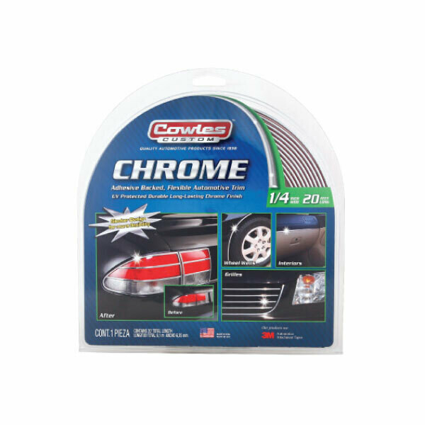 Cowles® S37740 Custom Chrome Body Molding Trim 1/4