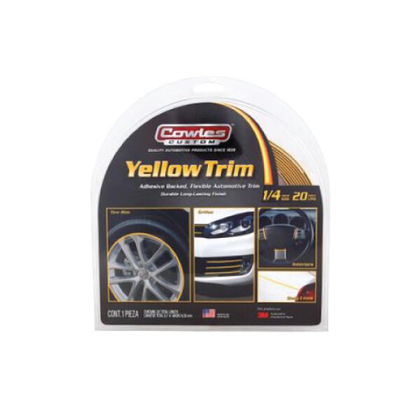 Yellow Custom Trim 1/4