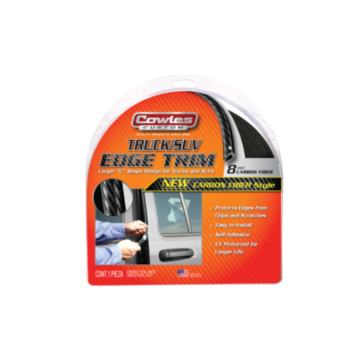Truck Edge Trim Carbon Fiber Style 8'