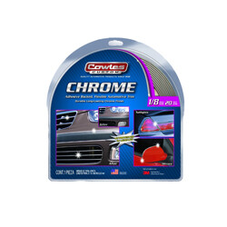 Cowles® S37780 Chrome Body Molding Trim 1/8