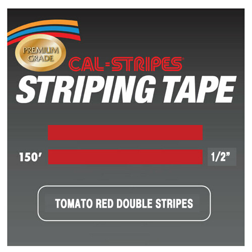 Cal-Stripes® Tomato Double Stripes 1/2