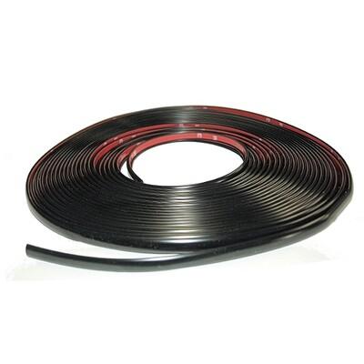Cowles® Black Tape on Door Edge Guard - 3/8